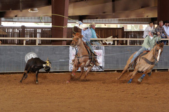 Lone Wolf Photgraphy - Average winners action-Lee Hicknor and Jace Outlaw