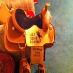 Brand New Team Roping Saddle Never Been Used