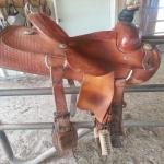 12.5 Roping Saddle