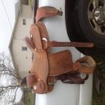 Lightly Used Roping Saddle - for sale or trade