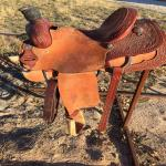 Paul Turner Custom Team Roping Saddle 14.5