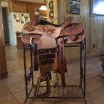 14.5-inch Teskey Trophy Calf Roping Saddle
