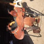 13 inch Ammerman Calf Ropng Saddle