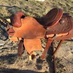 Paul Turner Custom Team Roping Saddle